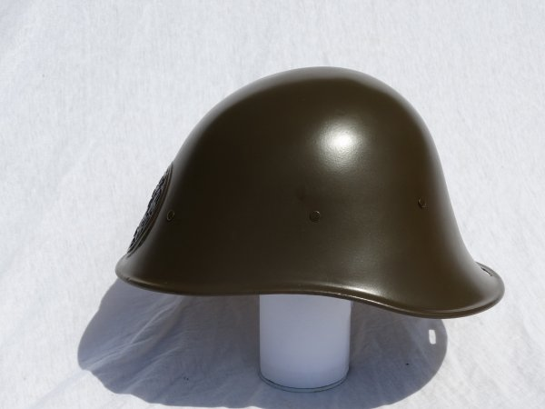 Dutch M34 Helmet Restoration part 6