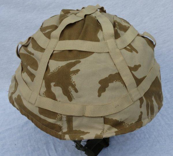 British MK 6 helmet (+Desert cover)