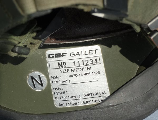 Denmark M96 helmet (part 1)