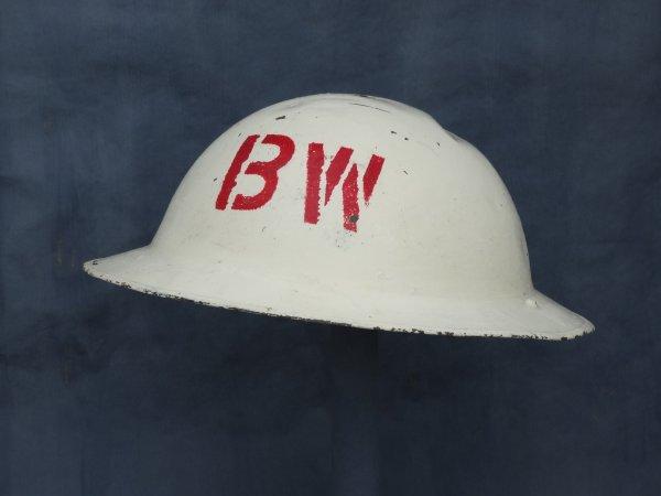 Belgian Helmet model 49FN white.