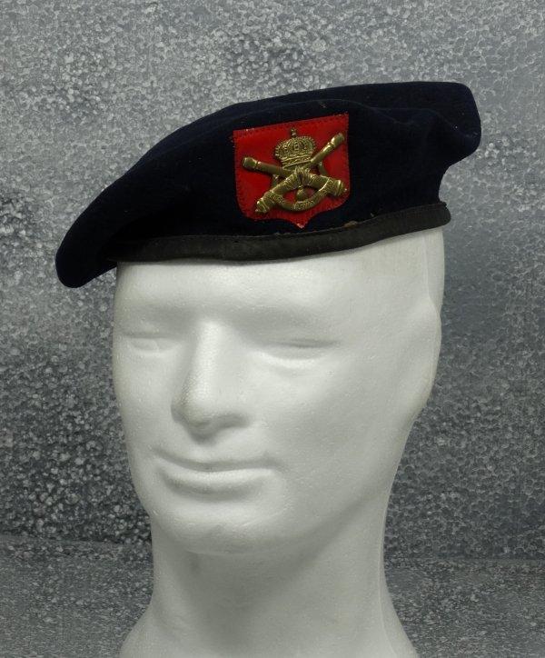 """Belgian beret """"Artillerie"""" 1955"""