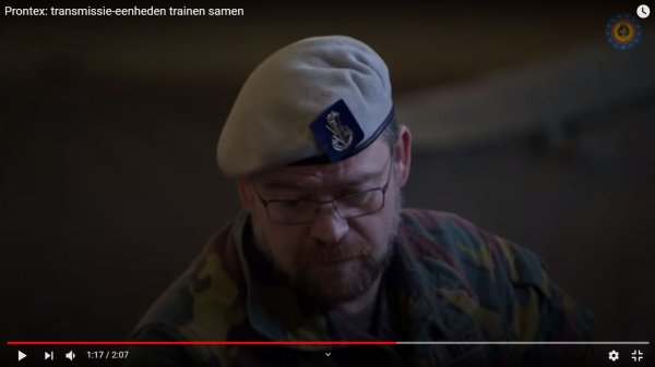 "Belgian Beret ""Transmissietroepen"" (3)"