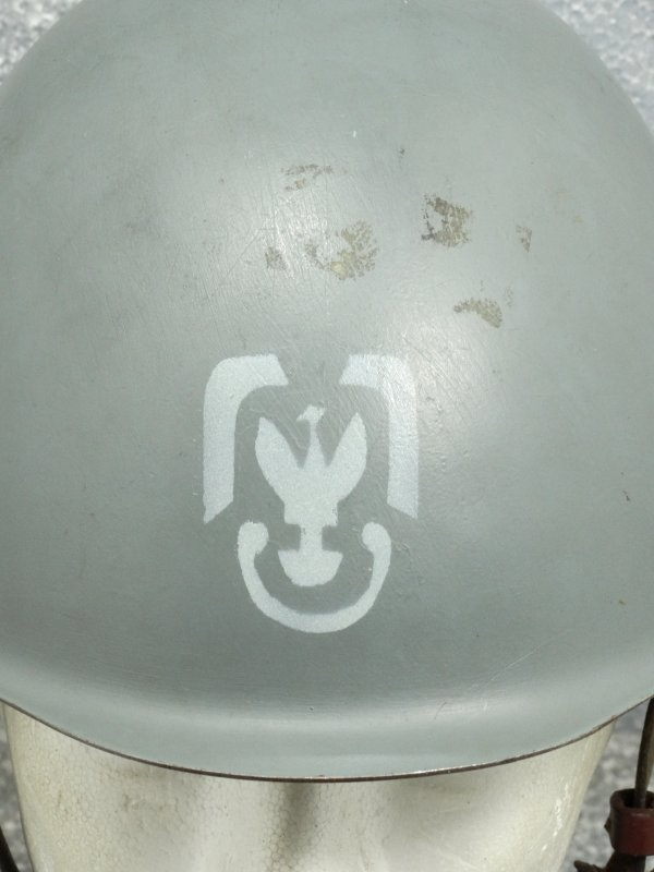 Poland Wz67 Helmet re-used Air Force part 2