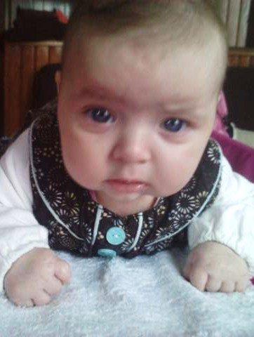 Shayna, 28 septembre 2011, 11h21, 3kg240. La plus belle des princesses, c'est toi mon amour.