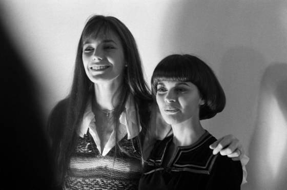 Mireille avec Jane Birkin