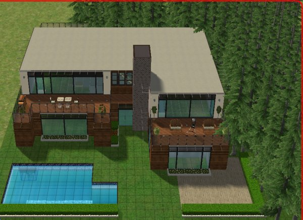 articles de maisondecosims tagg s maisons bois sims maisons et deco pour sims 2. Black Bedroom Furniture Sets. Home Design Ideas