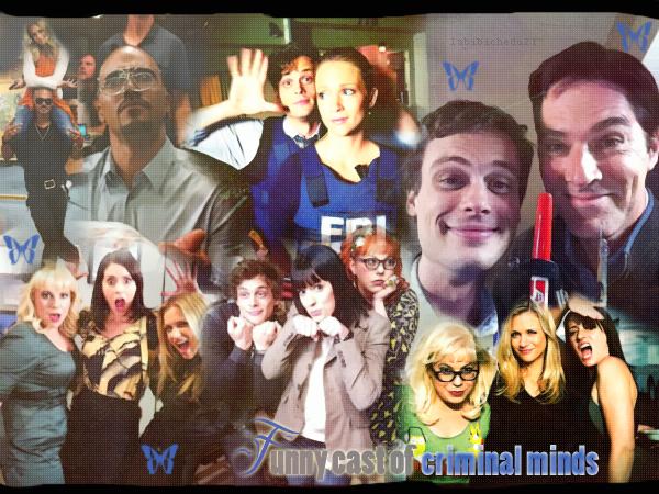 ✜✜ Pixx ✜✜ Newletter   Esprits Criminels : Funny Cast ✜✜Sommaire ✜✜Offres de creations