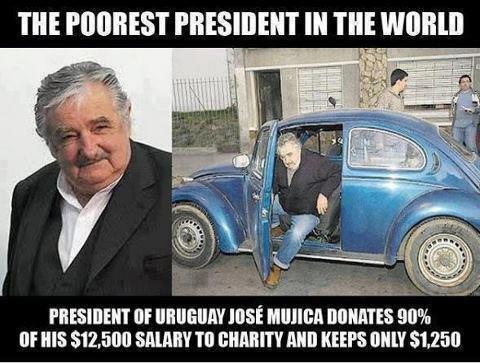 Poorest President ♥
