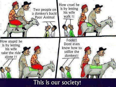 This is our society ...
