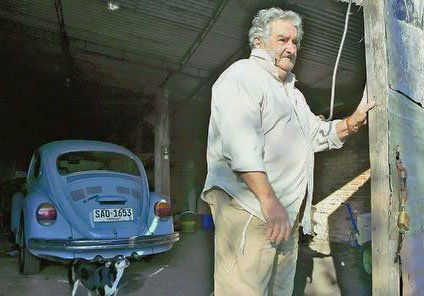 Jose Mujica one of the poorest president in the world