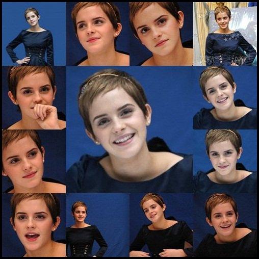 Emma a la conférence de presse datant du 13 novembre. Vous voulez que je vous dise ? Pour moi, c'est la plus belle femme au monde <3