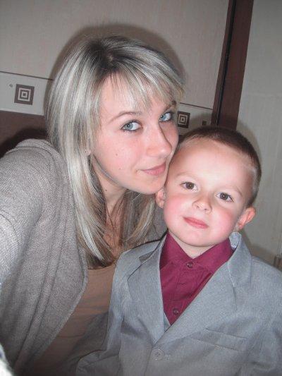 Mon petit Bébé et moi ♥.
