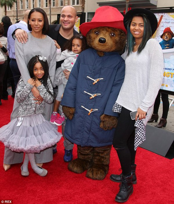 Mel B avec son mari & ses enfants - Blog de Baby-Stars-62100