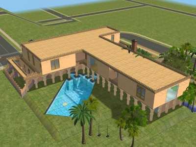 maison marocaine de luxe ext rieur blog de vickysdrawings. Black Bedroom Furniture Sets. Home Design Ideas