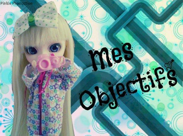 Mes Objectif <3