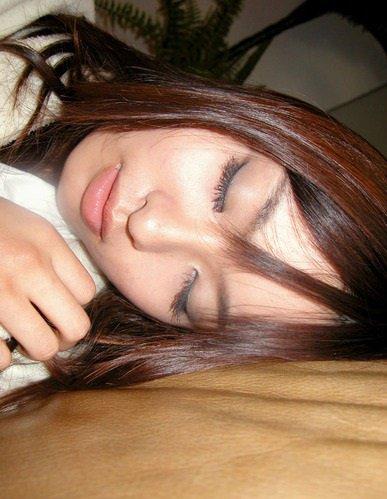 moi en train de dormire