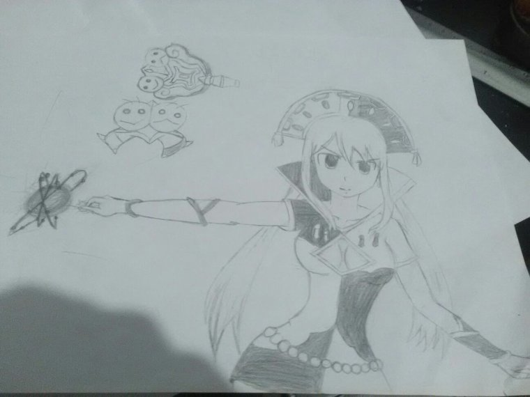 Dessins Fairy Tail