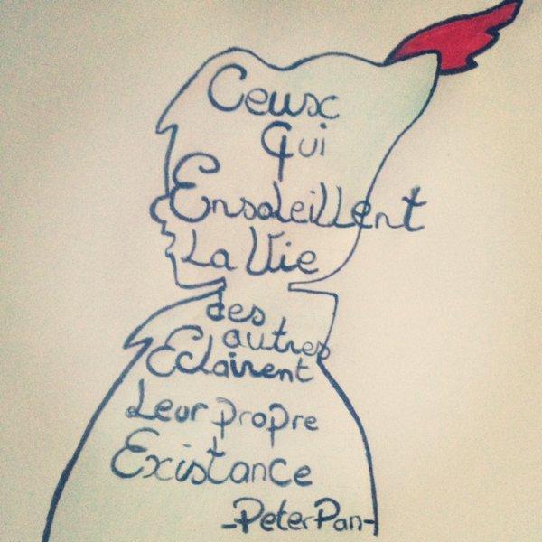 Le petit dernier • J'avoue j'en suis assez Fière de ma compo sur Peter Pan