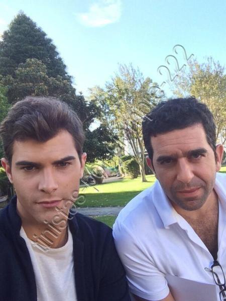 Diego avec son Directeur :)