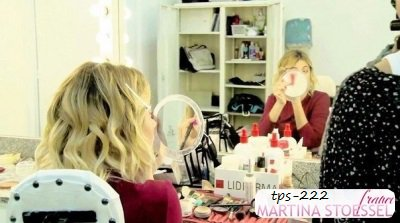 Nouvelle photo de Martina en coulisses de Violetta 3 .