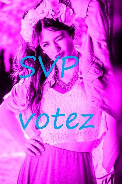 Soyez nombreux a voter SVP c'est important pour le blog ♥ :(