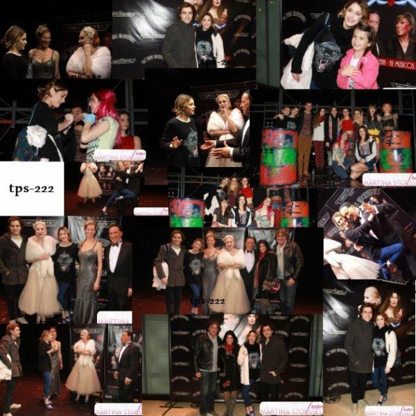 Tini & Peter à la première de Tango Porteno (26/07)