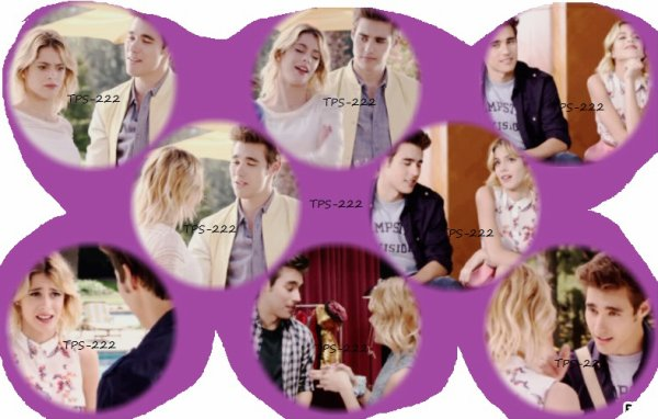 Pleins de moments leonetta saison 3 !
