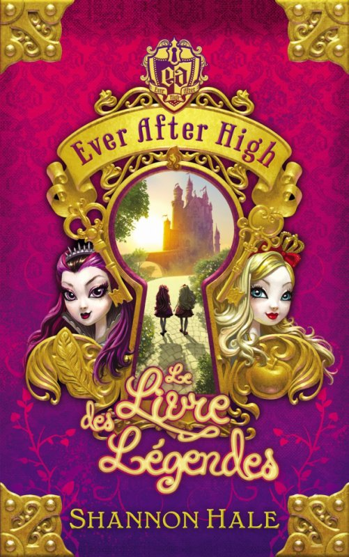 Le livre Ever After High !!!