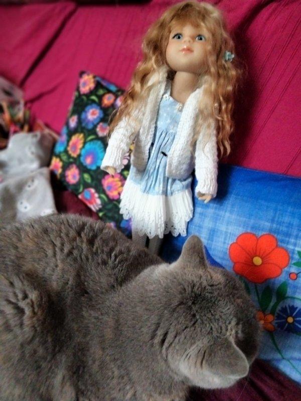 Isadora et jolie demoiselle