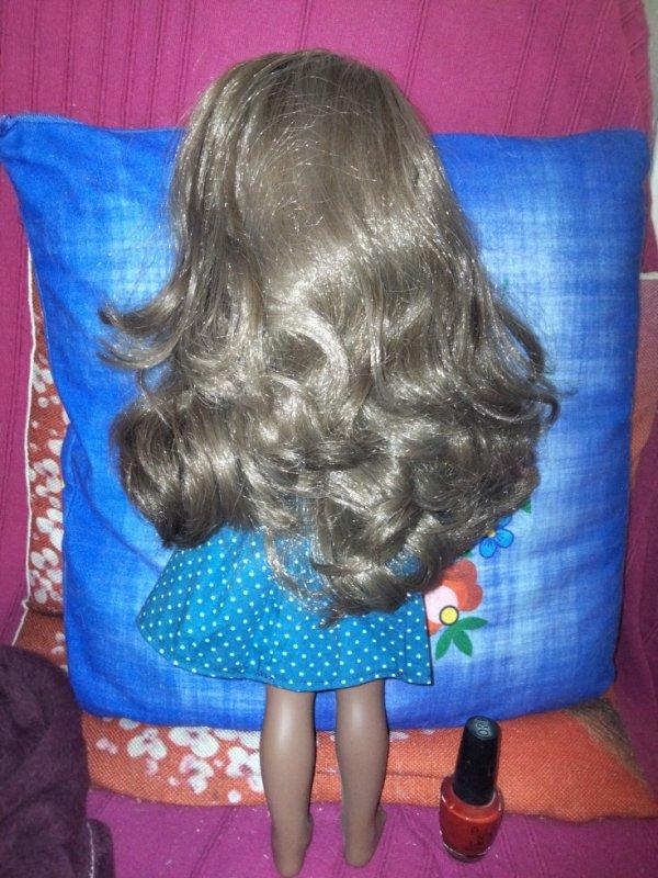 Admirons ces cheveux...