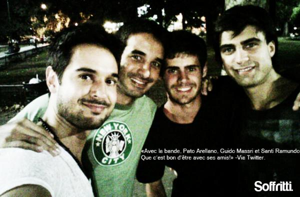 Gaston, de retour de Punta Del Este, a publié des photos de lui :)
