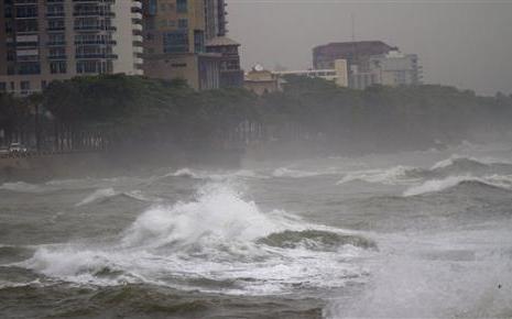 """""""Frankenstorm"""" suivez l'ouragan Sandy au dessus des Etats-Unis"""