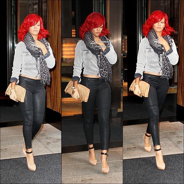 30/09/10 : Rihanna F a été aperçut se rendant au concert de son friend Drake. Tu aime sa tenue?.