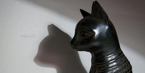 Le chat et les Egyptiens