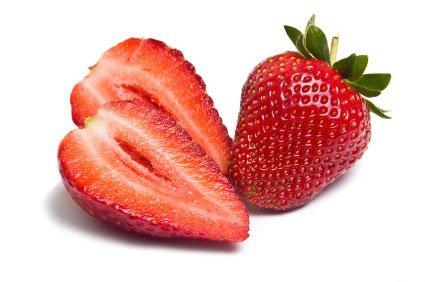 Meringue à la fraise Bonsoir !