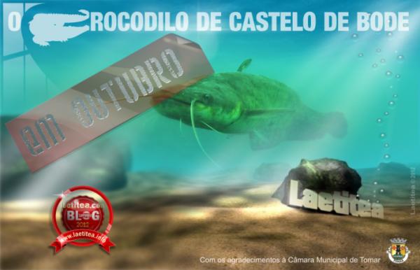 Le Crocodile de Castelo de Bode