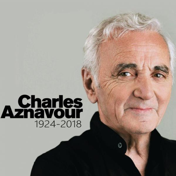 Charles Aznavour 1924 - 2018