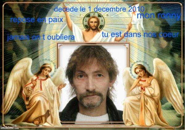 deces de ronny le 1 decembre