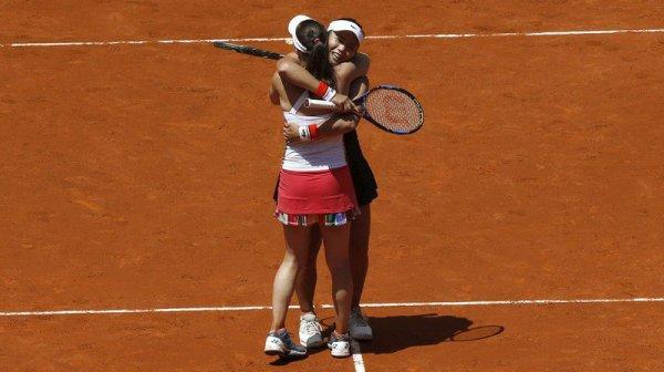 Tournoi WTA de Rome: nouvelle finale en double pour Martina Hingis
