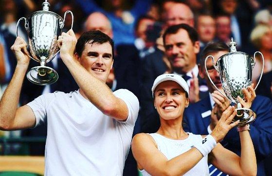 Hingis/Murray remportent Wimbledon en mixte