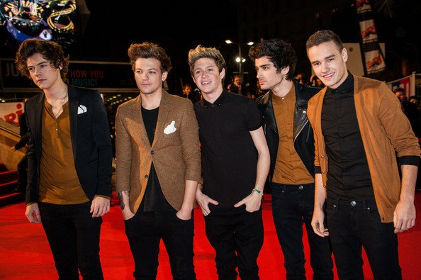 Les One direction au NRJ music award ♥ ∞