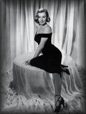 Élizabeth Taylor et Marilyn Monroe