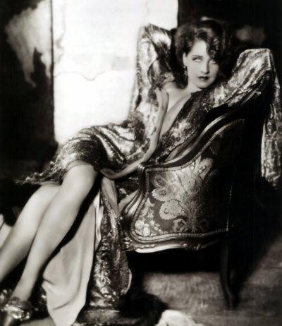 Norma Shearer(1902-1983)-la rivale de Lucille Fay Lesueur(Joan Crawford)