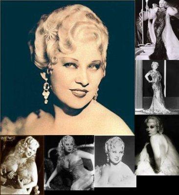 Mae west(17 Août 1893-22 Novembre 1980)