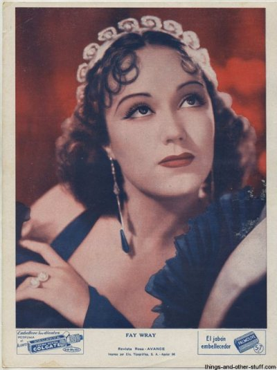 Fay Wray(1907-2004) parti 1