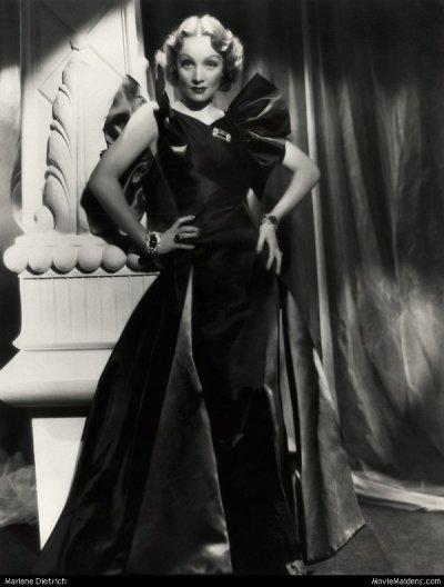 Marlène Dietrich(1m65)