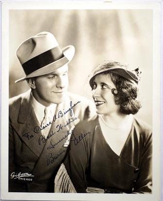 George Burns (sur chaque photo, il est accompagné de sa femme, Gracie Allen)