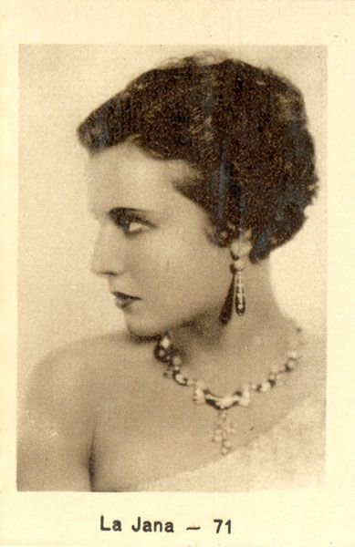 La Jana's  filmography