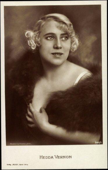 Hedda Vernon