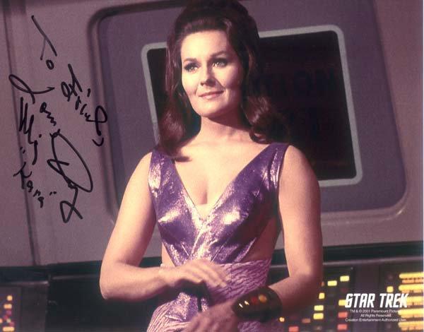 Liste des actrices ayant joué dans Star Trek